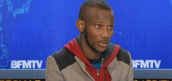 Lassana Bathily sur BFMTV