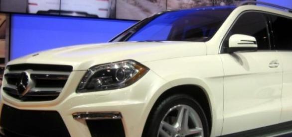 Le nouveau bolide de Mercedes.