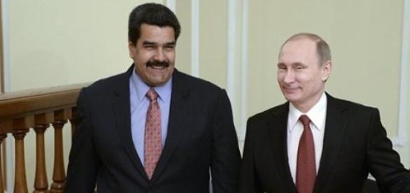 Nicolas Maduro et Vladimir Poutine