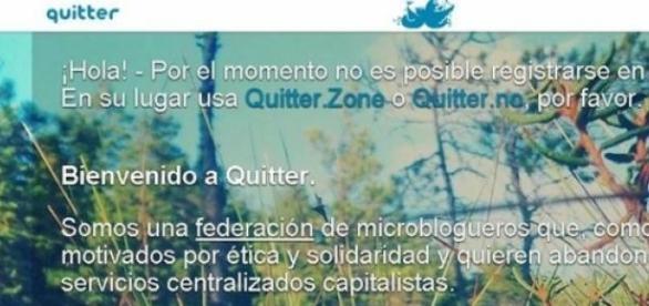 Quitter, una nueva red social