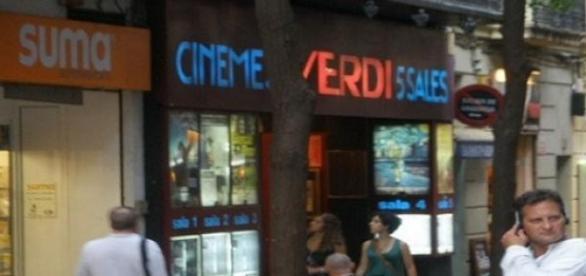 Entrada de los Cines Verdi (Foto del Autor).