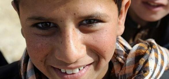 Jeune Bacha Posh Afghane