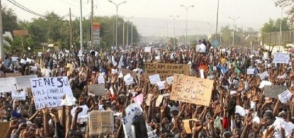 manifestation aux pays musulmans