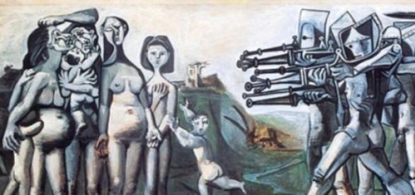 Massacre na Coreia - Pablo Picasso, 1951