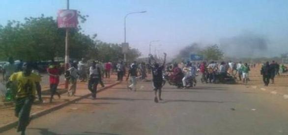 proteste anti-Charlie Hebdo in Niger