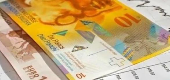 Skok kursu franka szwajcarskiego