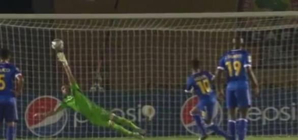 Heldon fez de grande penalidade o empate