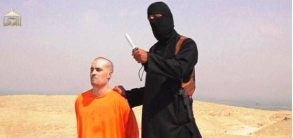 James Foley a ser executado.