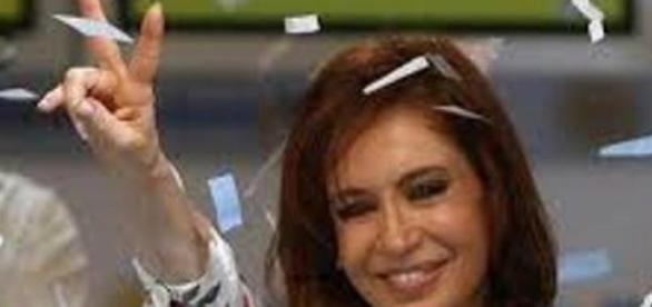 Presidente argentina Cristina Kirchner