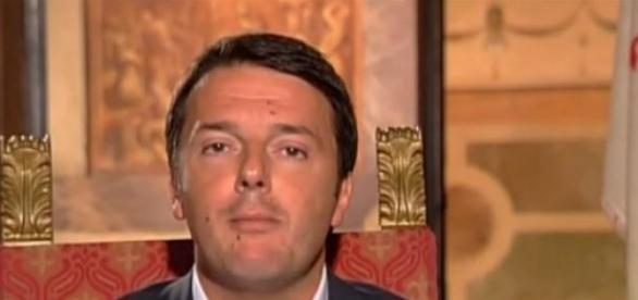 Renzi e la Merkel a Firenze