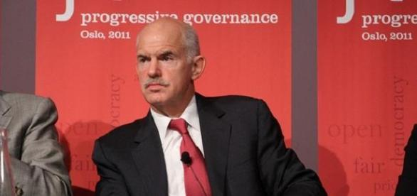 George Papandreou foi primeiro-ministro da Grécia