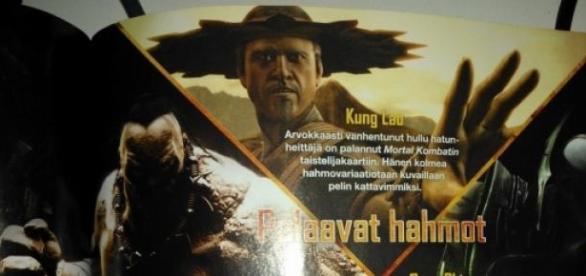 Kung Lao e seu novo chapéu