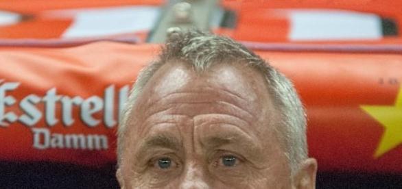 Johan Cruyff, antigo futebolista do Barcelona.