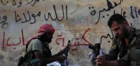 Milicianos do Estado Islâmico