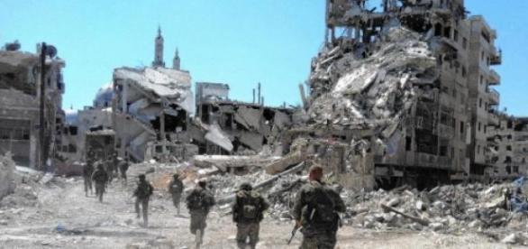 Razboiul civil din Siria devasteaza tara