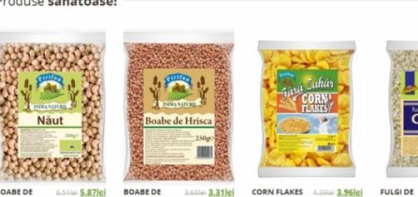 Cereale din tarate de ovaz si fulgi de porumb
