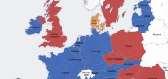 Euro poza Unią Europejską