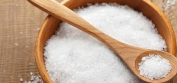 Exfolierea cu sare si beneficiile ei