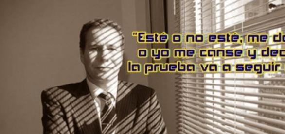 Las palabras del Alberto Nisman