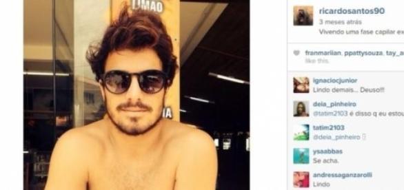 Ricardinho (Reprodução/Instagram)