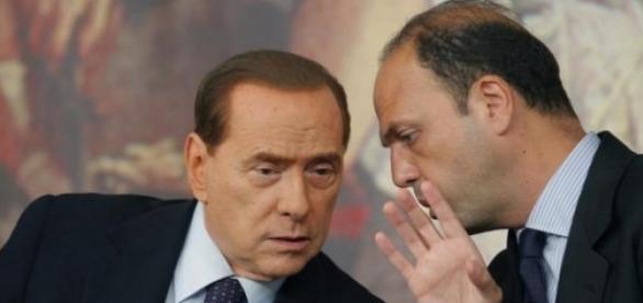 Silvio Berlusconi ha incontrato Angelino Alfano
