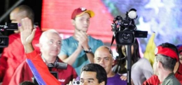 Ministerpraesident Maduro bei einer Veranstaltung