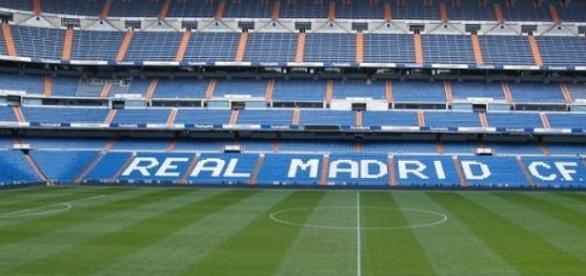 Real Madrid stadium Santiago Bernabeu