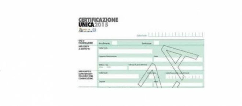 Certificazione unica 2015 nuovi adempimenti per le imprese - Certificazione lavoro autonomo provvigioni e redditi diversi nel 730 ...