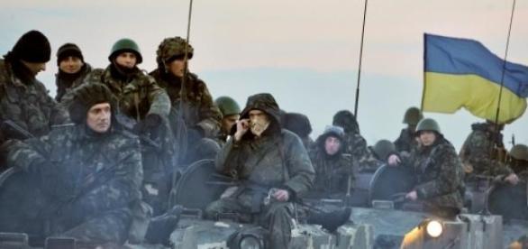 Armata ucraineana se mobilizeaza