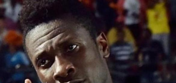 Asamoah Gyan scored the winner in the 90th minute