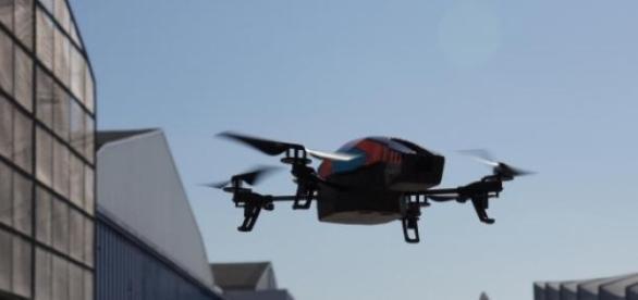 Drones são utilizados no transporte de droga.