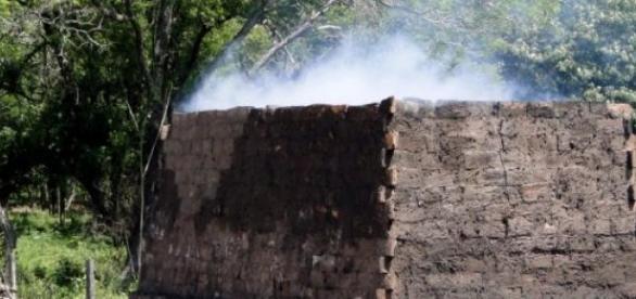 Horno de ladrillos, fuente de contaminación