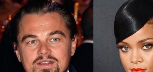 Leonardo Dicaprio e Rihanna