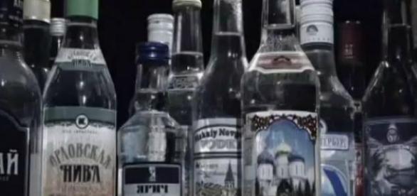 Spadek produkcji wódki w Rosji