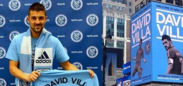 David Villa brilha na MLS