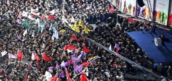 El pueblo griego arropa a Syriza