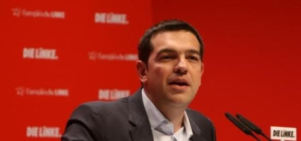 Alexis Tsipras heads of radical left-wing, Syriza