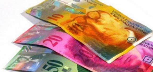 Francul elvetian a uimit cursul valutar