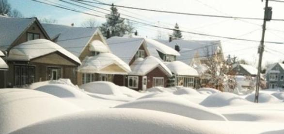 La tempête à Buffalo il y a quelques semaines.