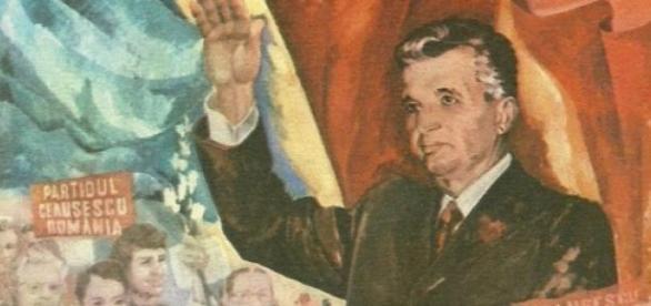 Nicolae Ceausescu presedintele Romaniei, comunism