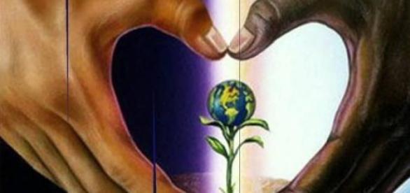 O mundo está nas mãos de todos
