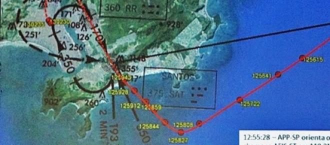 Divulgados primeiros dados da investigação do acidente aéreo que matou o candidato a presidência da República Eduardo Campos