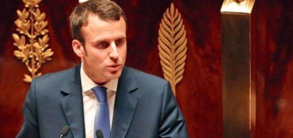 Emmanuel Macron à l'Assemblée
