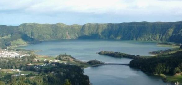 Lagoa das Sete Cidades nos Açores