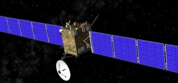Sonda espacial Rosetta de la ESA
