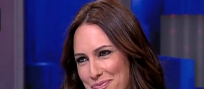 Fernanda Serrano em entrevista ao Jornal das 8 da TVI a 18 de abril de 2013. Print screen da entrevista disponível no site oficial do canal de televisão.