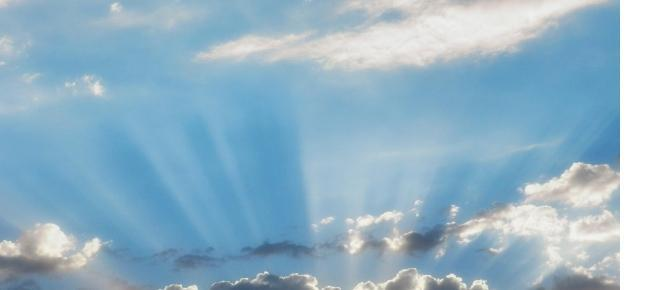 Infinitul cerului , in care sufletele urca