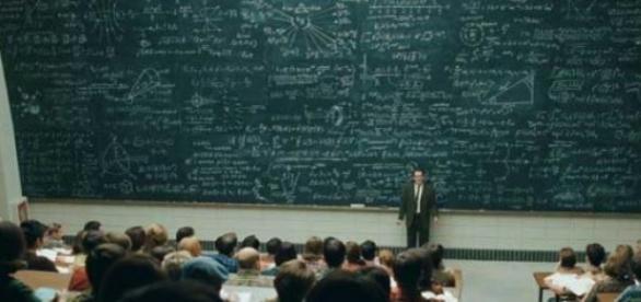 A prova avalia o conhecimento dos docentes.