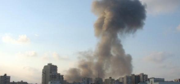 Bombardements au Liban en 2006