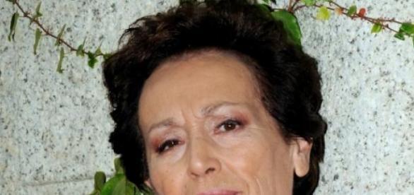 La actriz posando en una sesión